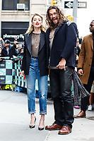 NOVA YORK, EUA, 03.12.2018 - CELEBRIDADES-EUA - Amber Heard e o  actor Jason Momoa  são vistos no bairro do Soho na Ilha de Manhattan na cidade de Nova York nos Estados Unidos nesta segunda-feira, 03. (Foto: Vanessa Carvalho/Brazil Photo Press)
