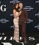 a _Danielle Jonas, Kevin Jonas 007 arrives at the Premiere Of Amazon Prime Video's Chasing Happiness at Regency Bruin Theatre on June 03, 2019 in Los Angeles, California.