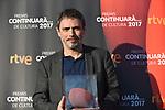 Premis Dol&ccedil;os Continuara de Cultura, Edicio 2017.<br /> Julio Manrique.