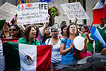 Mexican Protest in Montreal 2012
