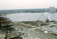 1983 February 10..Redevelopment.Downtown West (A-1-6)..WORLD TRADE CENTER.COSTRUCTION PHOTOS...NEG#.NRHA#..