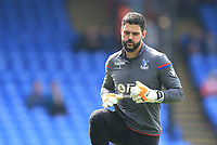 Julian Speroni of Crystal Palace during Crystal Palace vs Brighton & Hove Albion, Premier League Football at Selhurst Park on 14th April 2018