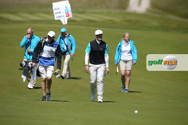 Oliver Fisher (ENG) leads up the 3rd during Round Two of the 2015 Nordea Masters at the PGA Sweden National, Bara, Malmo, Sweden. 05/06/2015. Picture David Lloyd | www.golffile.ie