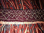 VINTAGE HAND PRINTED HAND STITCHED GYPSY TRIBAL SKIRT, KUTCH, INDIA