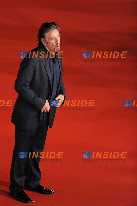 Al Pacino attends the Marc'Aurelio acting award red carpet during the 3rd Rome International film Festival held at the Auditorium Parco della Musica on October 22, 2008 in Rome Italy.<br /> Foto Andrea Staccioli Insidefoto