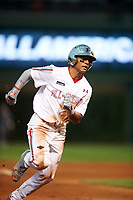 Ricardo de la Torre (1) of the Puerto Rico Baseball Academy in Juana Diaz, Puerto Rico during the Under Armour All-American Game presented by Baseball Factory on July 23, 2016 at Wrigley Field in Chicago, Illinois.  (Mike Janes/Four Seam Images)
