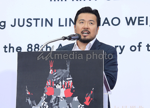 03 June 2015 - Hollywood, California - Justin Lin. TCL Chinese Theatre IMAX 88th Birthday Hand Print Ceremony held at the at The TCL Chinese Theatre IMAX. Photo Credit: F. Sadou/AdMedia