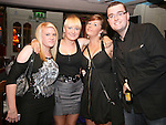 Emmy Atkinson, Caitlin Hodgins, Jordane Carlin and Ben Smith at the St Trinian's Fancy Dress Night in Shooters..Photo NEWSFILE/Jenny Matthews.(Photo credit should read Jenny Matthews/NEWSFILE)....This Picture has been sent you under the condtions enclosed by:.Newsfile Ltd..The Studio,.Millmount Abbey,.Drogheda,.Co Meath..Ireland..Tel: +353(0)41-9871240.Fax: +353(0)41-9871260.GSM: +353(0)86-2500958.email: pictures@newsfile.ie.www.newsfile.ie.FTP: 193.120.102.198.
