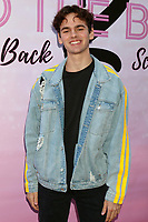 """LOS ANGELES - MAR 8:  Jake Clark at the """"To the Beat! Back 2 School"""" World Premiere Arrivals at the Laemmle NoHo 7 on March 8, 2020 in North Hollywood, CA"""