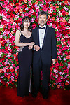 NEW YORK, NY - JUNE 10:  Eva Hwang and David Henry Hwang attend the 72nd Annual Tony Awards at Radio City Music Hall on June 10, 2018 in New York City.  (Photo by Walter McBride/WireImage)