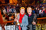 Mary O'Hanlon and Eileen Worts, celebrating 25 years with Listowel Tidy Towns and overall winner of tidiest Town.