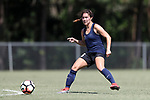 CARY, NC - JUNE 10: North Carolina Courage's Samantha Witteman. The North Carolina Courage held a scrimmage against the CASL Red South U16 Boys team on June 10, 2017, at WakeMed Soccer Park Field 7 in Cary, NC.