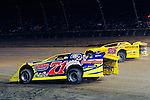 Sep 12, 2010; 12:25:50 AM; Rossburg, OH., USA; The 40th annual running of the World 100 Dirt Late Models racing for the Globe trophy at the Eldora Speedway.  Mandatory Credit: (thesportswire.net)
