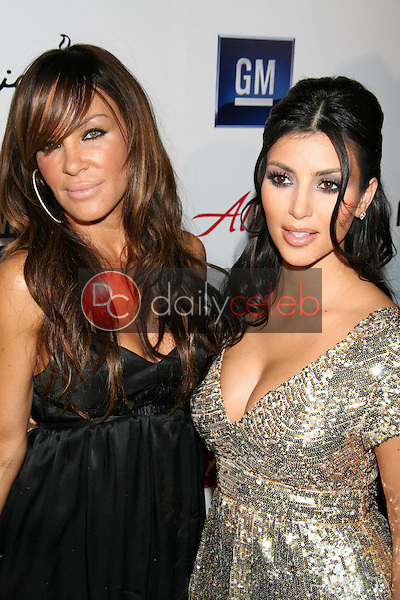 Robin Antin and Kim Kardashian<br />