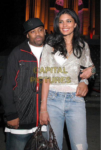 DAMON DASH & RACHEL ROY.Arrivals at the annual Vanity Fair Party to celebrate the Tribeca Film Festival at the State Supreme Court in downtown Manhattan, New York, USA, 20 April 2005..half length married? wife?.Ref: ADM.www.capitalpictures.com.sales@capitalpictures.com.©Patti Ouderkirk/AdMedia/Capital Pictures.