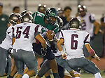Torrance, CA 10/09/15 -Cameron Dillon (South #44) in action during the Torrance vs South High varsity football game.  South defeated Torrance 24-21.