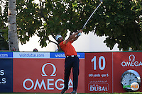 Joost Luiten (NED) during the Final Round of the 2016 Omega Dubai Desert Classic, played on the Emirates Golf Club, Dubai, United Arab Emirates.  07/02/2016. Picture: Golffile | David Lloyd<br /> <br /> All photos usage must carry mandatory copyright credit (&copy; Golffile | David Lloyd)