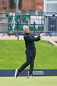 4th October 2017, The Old Course, St Andrews, Scotland; Alfred Dunhill Links Championship, practice round; Rory McIlroy, of Northern Ireland, tees off on the first hole  on the Old Course, St Andrews during a practice round before the Alfred Dunhill Links Championship