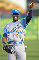 Heyward, Jason 1305.jpg. Carolina League Myrtle Beach Pelicans at the Frederick Keys at Harry Grove Stadium on May 13th 2009 in Frederick, Maryland. Photo by Andrew Woolley.