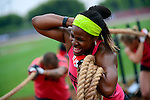 CARSON, CA - JULY 13:  An athlete competes during the 2012 Crossfit Games on July 13, 2012 at the Home Depot Center in Carson, California. (Photo by Donald Miralle) *** Local Caption *** .