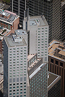 aerial photograph 345 California Center office tower San Francisco