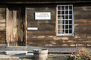 Eureka Schoolhouse during the autumn months....located in Springfield, Vermont USA which is part of scenic New England..This is the oldest one-room schoolhouse in Vermont