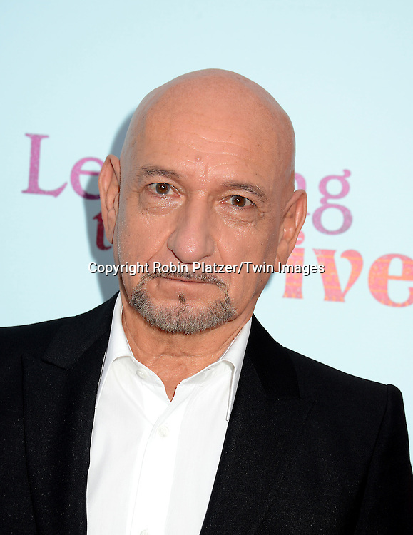Sir Ben Kingsley attends the NewYork VIP Premiere of &quot;Learning to Drive&quot;<br /> on August 17, 2015 at The Paris Theatre in New York City, New York, USA. <br /> <br /> photo by Robin Platzer/Twin Images<br />  <br /> phone number 212-935-0770