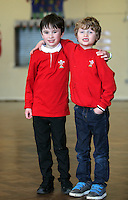 St David's Day at Newton Primary School in Swansea, Wales, UK. Wednesday 01 March 2017