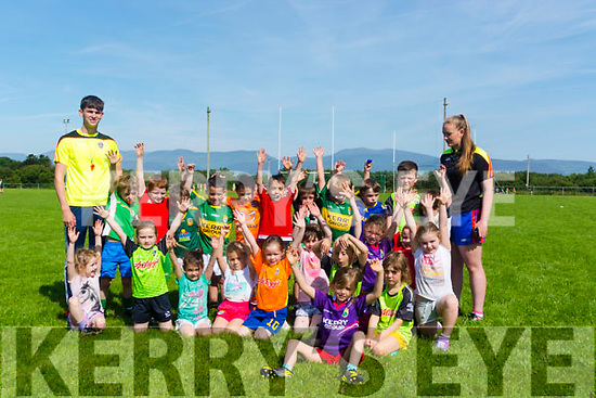 Children at the Glenbeigh at the Cul camp last Monday.