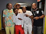 MIAMI, FL - MAY 29: John Witherspoon, Abebe Lewis, Lil Duval, Steve Brown and Chad Thomas backstage at the 9th Annual Memorial Weekend Comedy Festival at James L Knight Center on May 29, 2016 in Miami, Florida. ( Photo by Johnny Louis / jlnphotography.com )