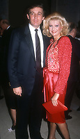 Donald Trump and wife Ivana Trump circa 1980's<br /> Photo By John Barrett/PHOTOlink