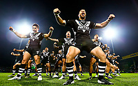 Picture by Alex Whitehead/SWpix.com - 08/11/2013 - Rugby League - Rugby League World Cup - New Zealand v Papua New Guinea - Headingley Carnegie Stadium, Leeds, England - New Zealand perform the Haka. Rugby League World Cup 2013 re edited 11/10/2017 Best Of