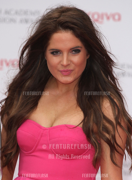Binky Felstead arriving for the TV BAFTA Awards 2013, Royal Festival Hall, London. 12/05/2013 Picture by: Alexandra Glen / Featureflash
