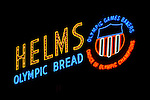 Neon sign at Helms Bakery Complex in Culver City