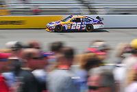 May 2, 2008; Richmond, VA, USA; NASCAR Sprint Cup Series driver Jamie McMurray during practice for the Dan Lowry 400 at the Richmond International Raceway. Mandatory Credit: Mark J. Rebilas-
