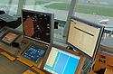 03/10/06 - AULNAT - PUY DE DOME - FRANCE - Aeroport d Aulnat. Tour de controle - Photo Jerome CHABANNE
