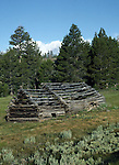 log cabin in Hope Valley