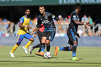 San Jose, CA - Saturday July 29, 2017: Chris Wondolowski during a Major League Soccer (MLS) match between the San Jose Earthquakes and Colorado Rapids at Avaya Stadium.
