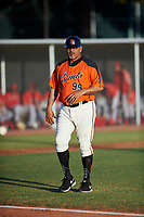 AZL Giants Orange manager Alvaro Espinoza (99) during a game against the AZL Angels at Giants Baseball Complex on June 17, 2019 in Scottsdale, Arizona. AZL Giants Orange defeated AZL Angels 8-4. (Zachary Lucy/Four Seam Images)