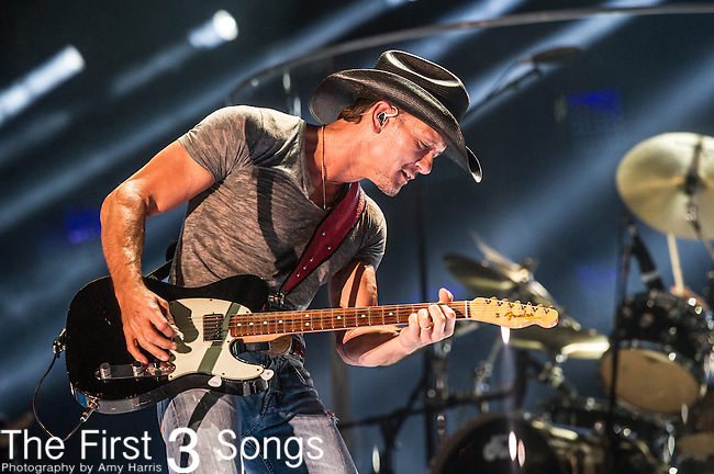 Tim McGraw performs at LP Field during Day One of the 2014 CMA Music Festival in Nashville, Tennessee.
