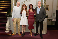 "LONDON, UK. February 19, 2019: Nicholas Lyndhurst, Cassidy Janson, Danielle de Niese & Kelsey Grammer at the announcement for a new production of ""Man of La Mancha"" at the London Coliseum, London.<br /> Picture: Steve Vas/Featureflash"