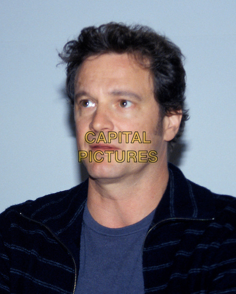 COLIN FIRTH.headshot, portrait.www.capitalpictures.com.sales@capitalpictures.com.© Capital Pictures.