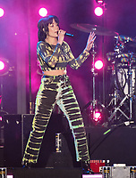 CARSON, CALIFORNIA - JUNE 01: Halsey performs onstage at 2019 iHeartRadio Wango Tango at Dignity Health Sports Park on June 01, 2019 in Carson, California.    /MediaPunch<br /> CAP/MPI/IS<br /> ©IS/MPI/Capital Pictures