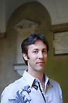 David Eagleman at Christ Church during the Sunday Times Oxford Literary Festival, UK, 2-10 April 2011. <br />