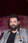 """10.04.2012.Rueda de prensa de Presentación de  Tú Sí Que Vales, El Espectáculo en El Teatro Häagen-Dazs Calderón (Madrid) con la presencia de Kiko Rivera (jurado), El Sevilla (presentador)e Iñaki Fernández (Representante de la productora). En la imagen: El Sevilla (Alterphotos/Marta Gonzalez)..10.04.2012. Press conference of presentation of """"You really are worth, The Show"""" in Teatro Häagen-Dazs Calderón (Madrid) with the presence of Kiko Rivera (jury), Sevilla (presenter) and Inaki Fernandez (Representative of the production). In the image: El Sevilla (Alterphotos/Marta Gonzalez)"""