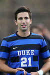 20 September 2013: Duke's Nick Prys. The Duke University Blue Devils hosted the Syracuse University Orangemen at Koskinen Stadium in Durham, NC in a 2013 NCAA Division I Men's Soccer match. Syracuse won the game 2-1.