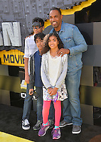 Jason Winston George &amp; Vandana Khanna &amp; Family at the world premiere of &quot;The Lego Batman Movie&quot; at the Regency Village Theatre, Westwood, Los Angeles, USA 4th February  2017<br /> Picture: Paul Smith/Featureflash/SilverHub 0208 004 5359 sales@silverhubmedia.com