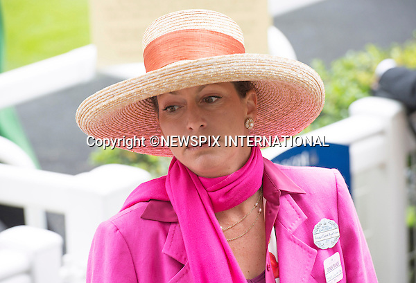 19.06.2014;Ascot, England: ROYAL ASCOT 2014 LADIES DAY - PRINCESSES ZAHRA<br /> The Queen, Duke of Edinburgh, Princes Andrew and Harry Prince Harry, Princesses Anne, Eugenie and Beatrice in attendance on the Ladies Day of the 4-day Royal Ascot Race Meeting.<br /> Mandatory Photo Credit: &copy;Francis Dias/NEWSPIX INTERNATIONAL<br /> <br /> **ALL FEES PAYABLE TO: &quot;NEWSPIX INTERNATIONAL&quot;**<br /> <br /> PHOTO CREDIT MANDATORY!!: NEWSPIX INTERNATIONAL(Failure to credit will incur a surcharge of 100% of reproduction fees)<br /> <br /> IMMEDIATE CONFIRMATION OF USAGE REQUIRED:<br /> Newspix International, 31 Chinnery Hill, Bishop's Stortford, ENGLAND CM23 3PS<br /> Tel:+441279 324672  ; Fax: +441279656877<br /> Mobile:  0777568 1153<br /> e-mail: info@newspixinternational.co.uk