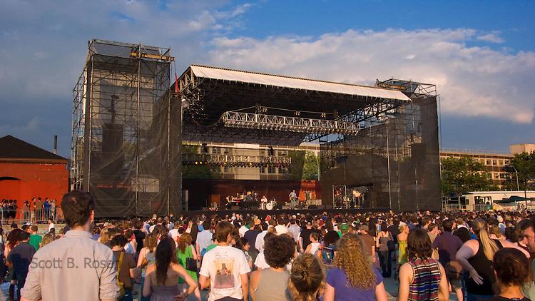 Summer Concert at McCarren Pool
