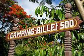 """Camping """"Billet de 500"""" à Lindéralique, Hienghène, province Nord, Nouvelle-Calédonie"""